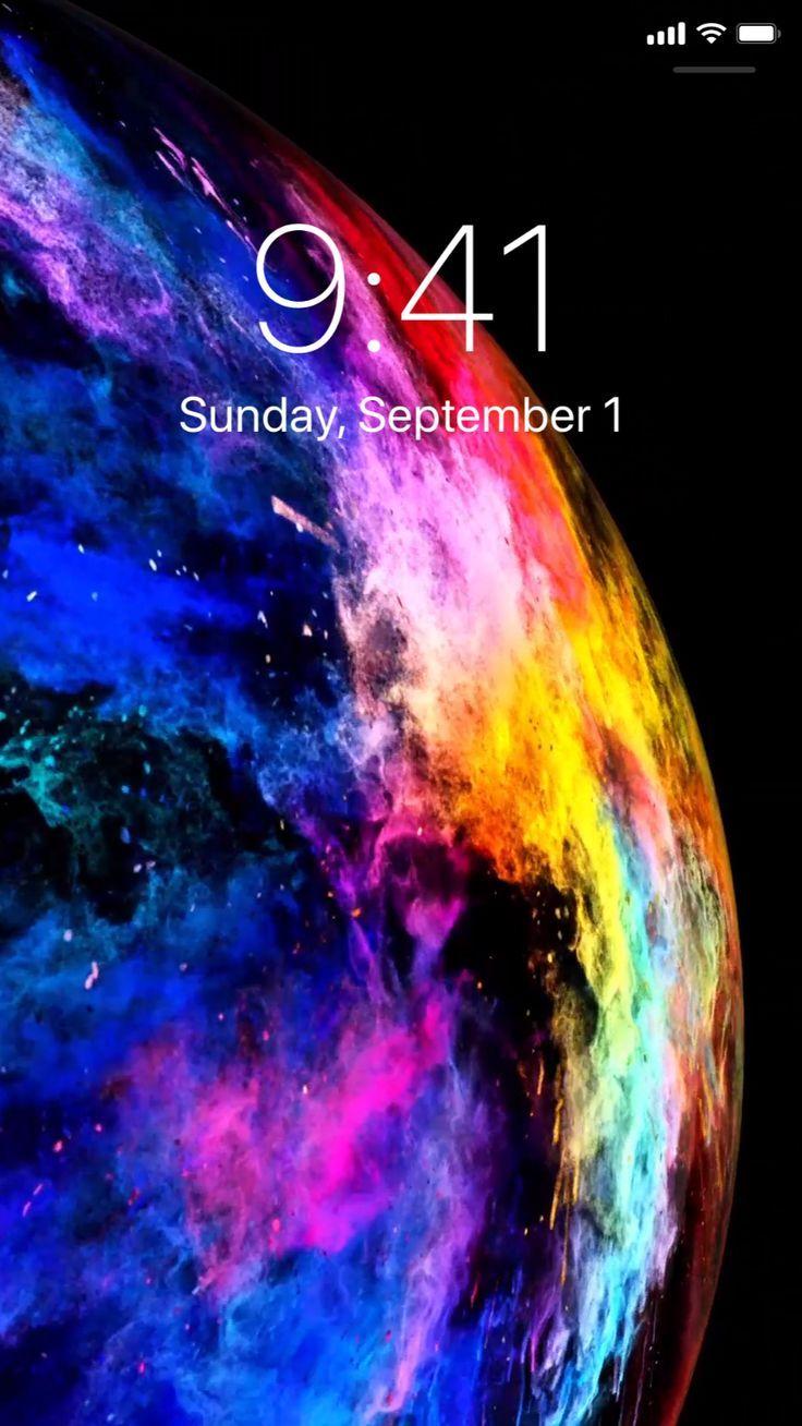 Cosmic live wallpapers for iPhone. (Có hình ảnh) Ảnh