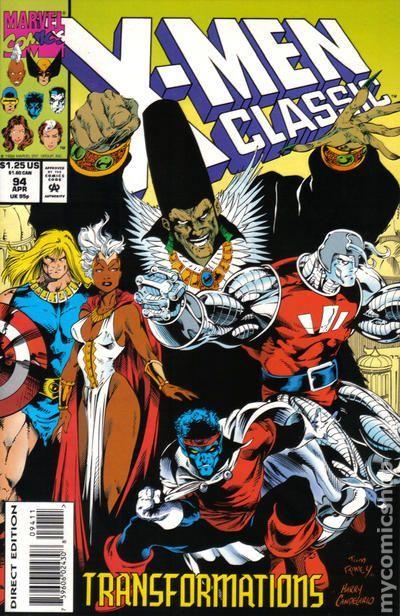 X Men Classic 1986 Classic X Men 94 With Images Marvel Comics Art Comics Superman Comic