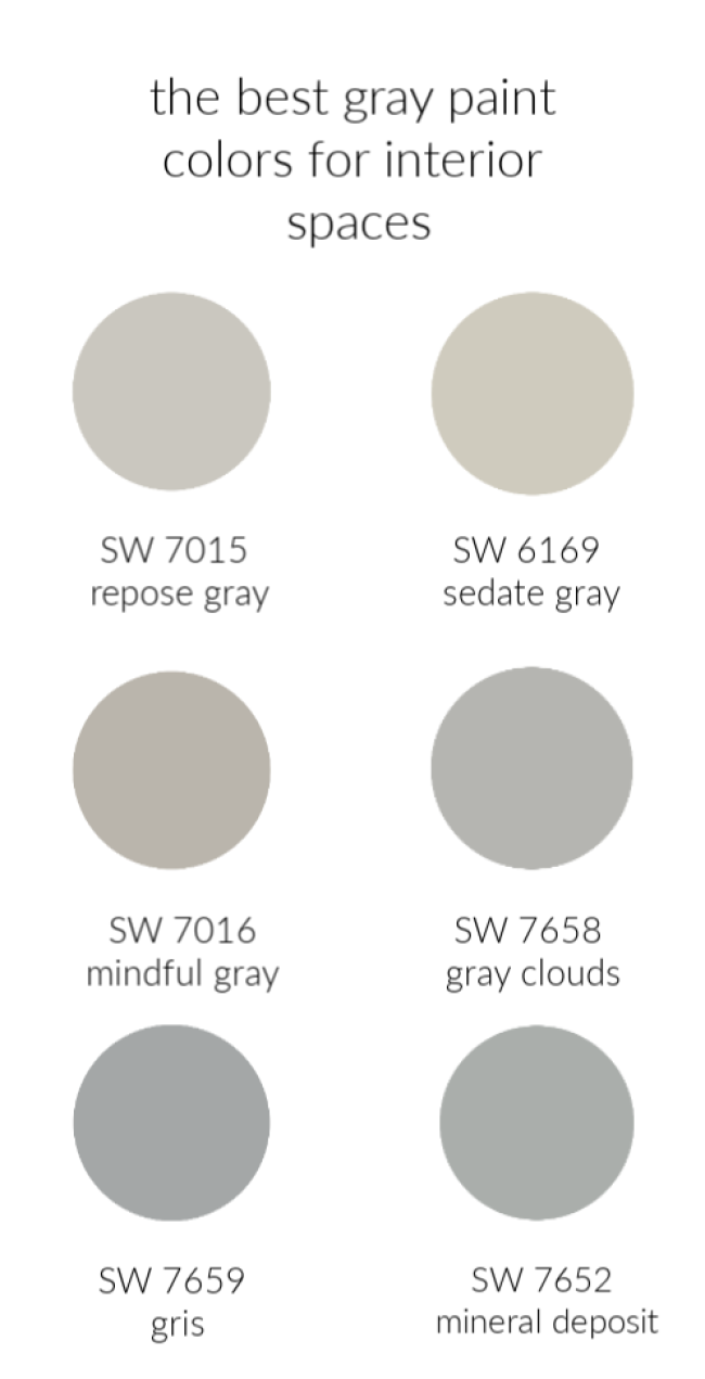 The Best Gray Paint Colors in the Universe images