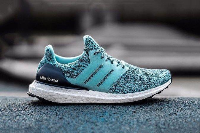 adidas boost blue green