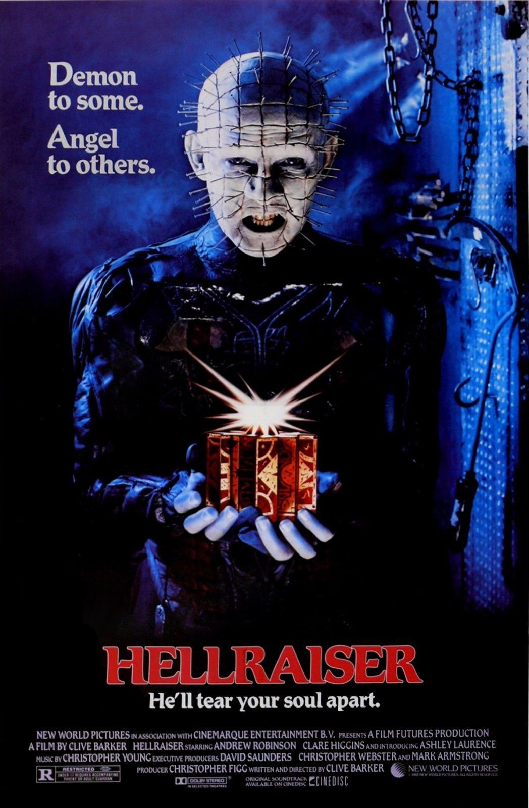 Size 24x36 HALLOWEEN MOVIE POSTER Classic Horror Poster