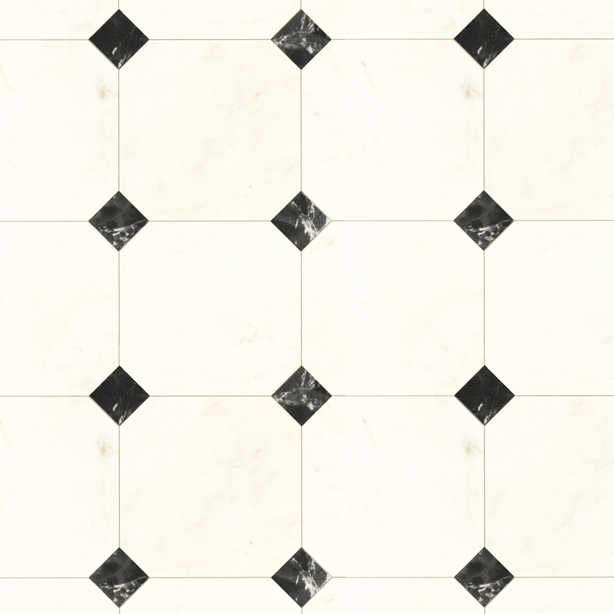 Zurona Black & White Marble Effect Vinyl cut to chosen length in ...