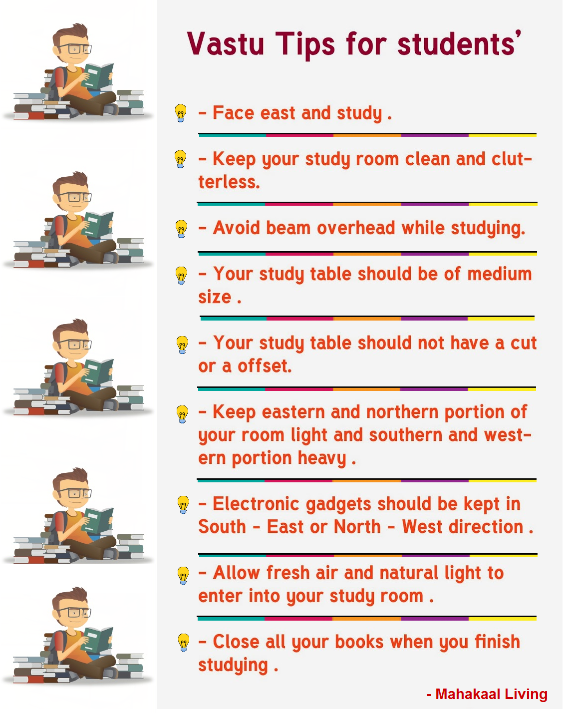 Vastu Tips For Students Improve Performance