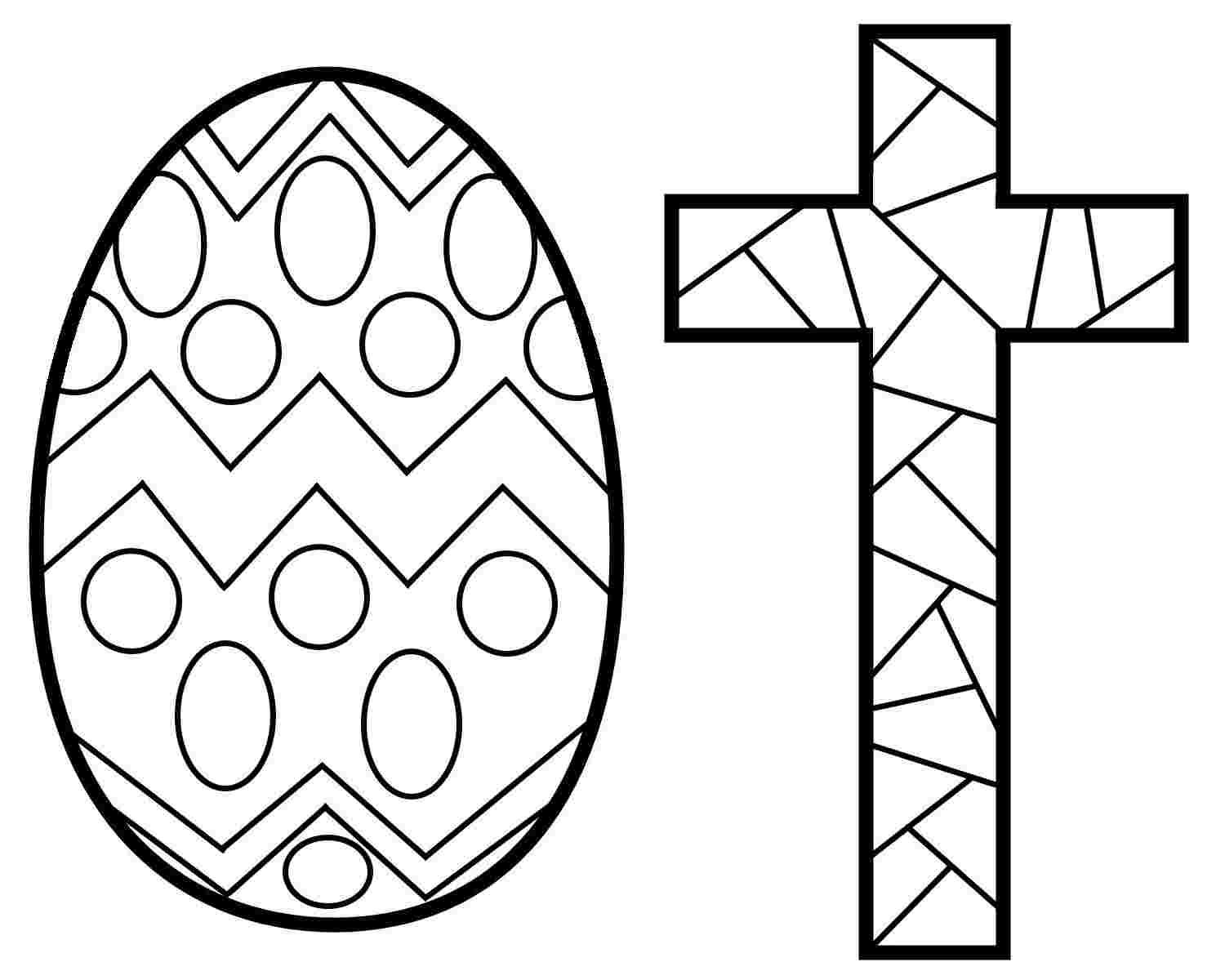 Easter Stained Glass Coloring Pages In 2020 Stain Glass Cross Making Stained Glass Cross Coloring Page