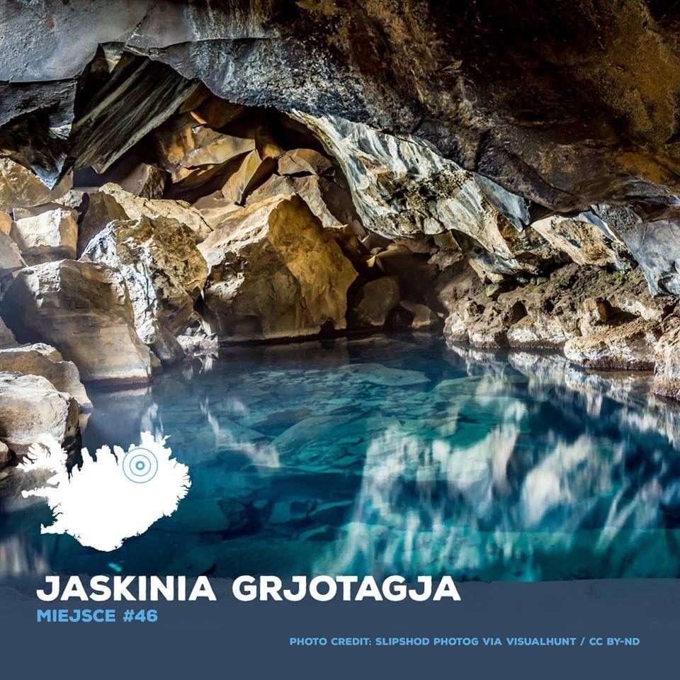 Jaskinia zalana gorącą wodą – kąpiel tylko dla hardkorów!!:D (woda ma 50-60 stopni). Umoczyć stopę to już wyzwanie, nie mniej miejsce przecudowne!🇵🇱🇮🇸