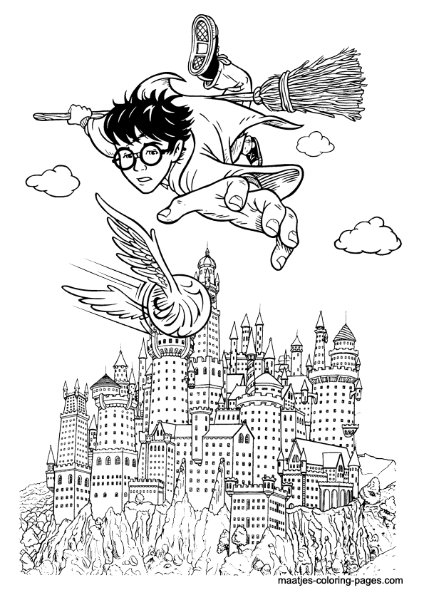 Harry Potter Coloring Page Harry Potter Colors Harry Potter Coloring Book Harry Potter Coloring Pages