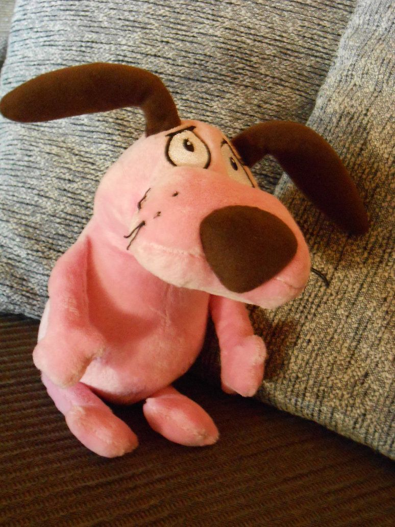 Courage The Cowardly Dog Plush By Altergromit Deviantart Com On