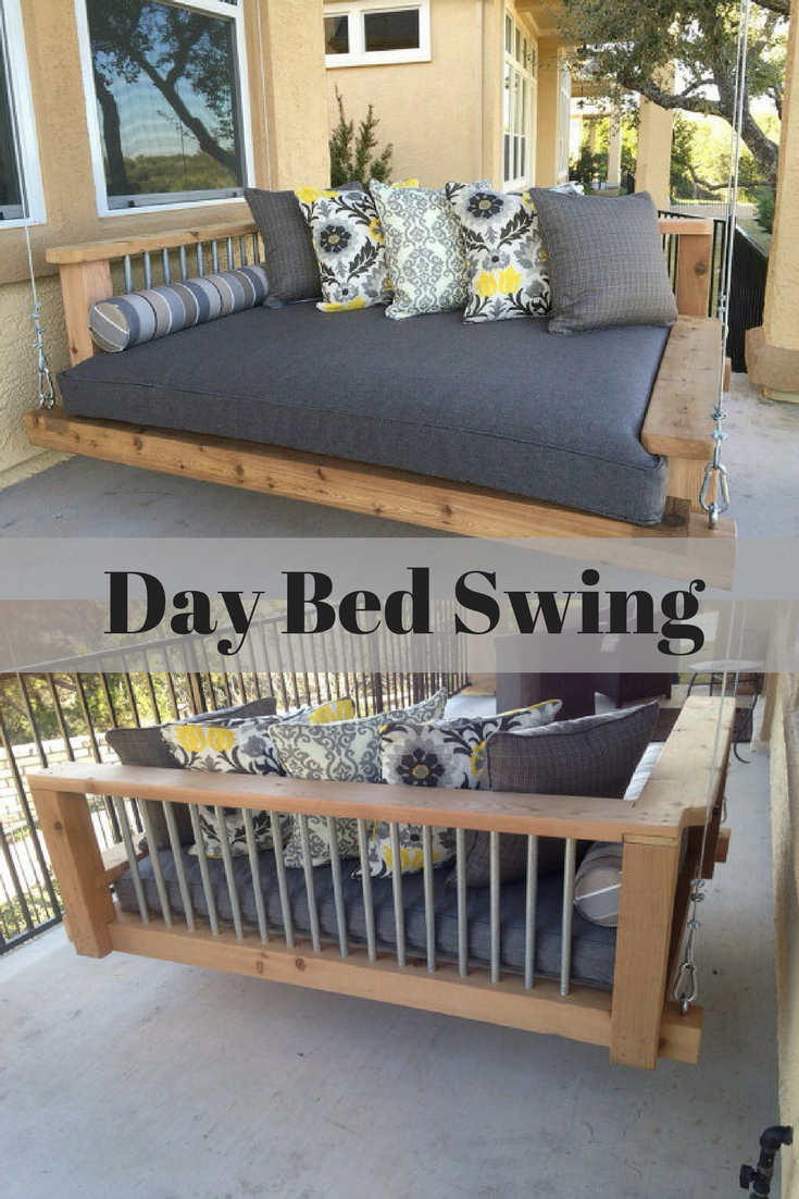 Porch swing bed chaise lounge chair day bed swing outdoor furniture southern porch swing hanging bed luxury furniture porch furniture swing