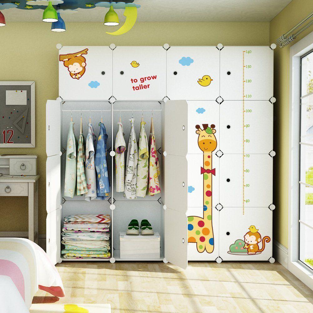 Dieser Schrank passt perfekt in ein Safari Kinderzimmer ...