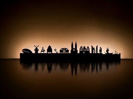 Radius Design 711 S Teelicht Halter Skyline Bremen