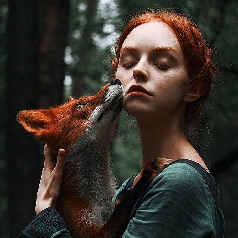 Girls and Foxes – Les magnifiques portraits d'Alexandra Bochkareva (image)