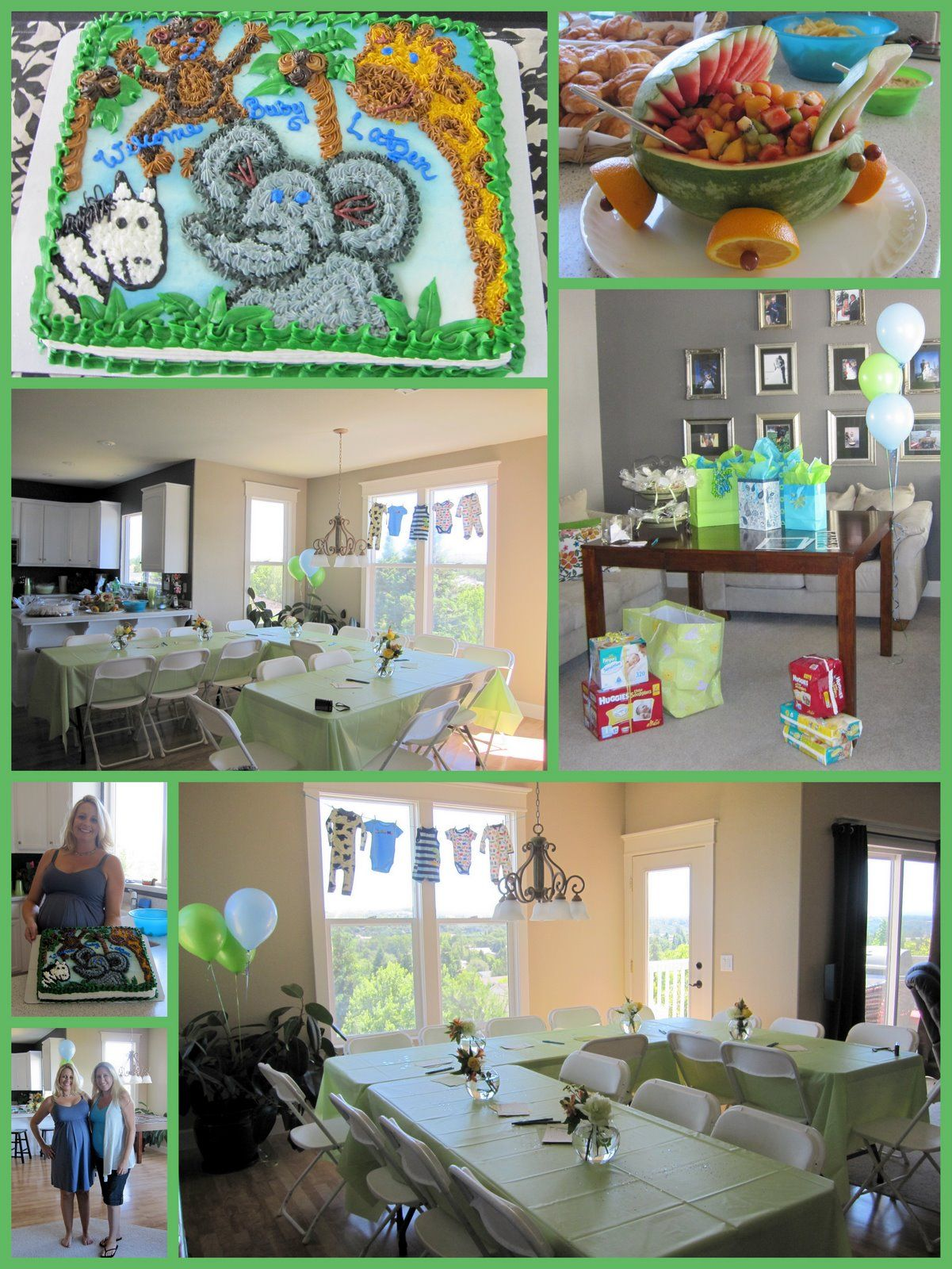 safari baby shower decorations