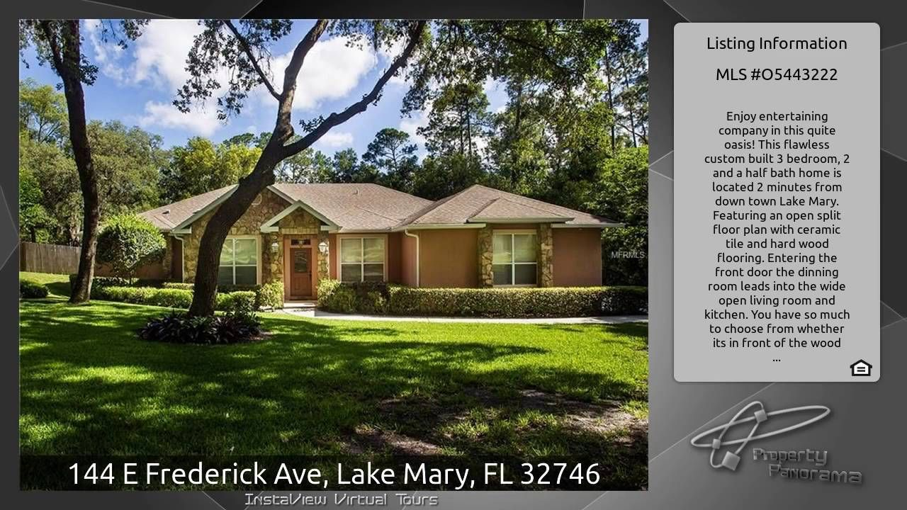 144 E Frederick Ave, Lake Mary, FL 32746 Lake mary