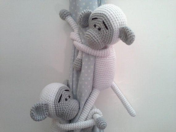 Amigurumi Affe, lila Affe, nette Häkeln Affen, Crochet Animal ...   428x570