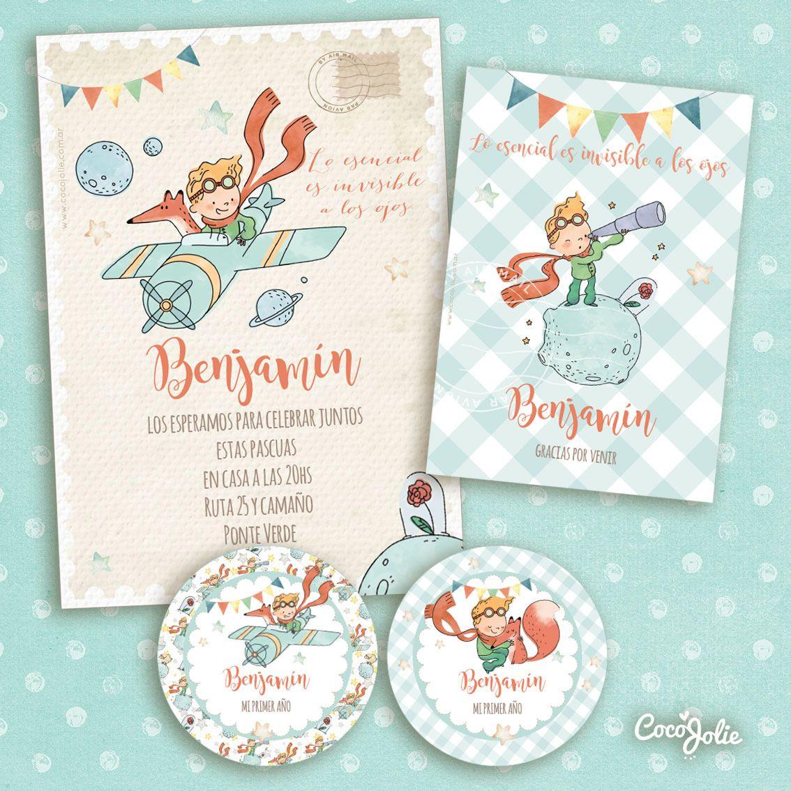 Kit El Principito Vintage Imprimible Personalizable Decoración De Fiesta Fiesta Del Principito Fiesta De Cumpleaños Príncipe
