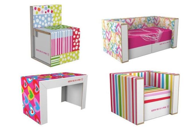 Como hacer muebles de carton para maquetas imagui - Muebles de carton ...