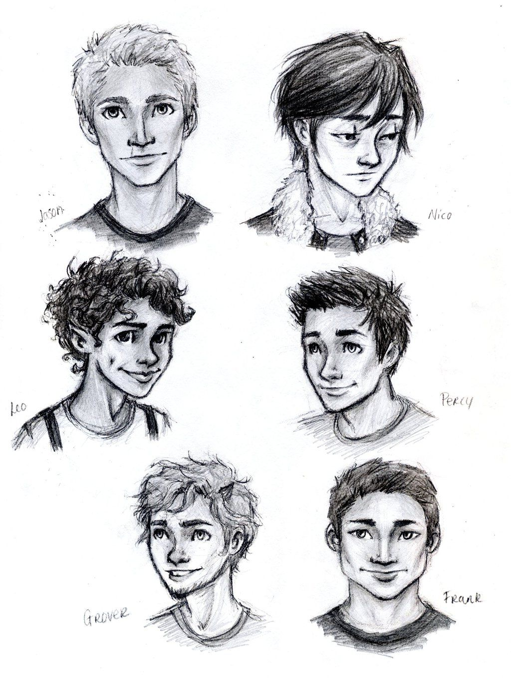 Percy Jackson Boys by meabhdeloughry.deviantart.com on