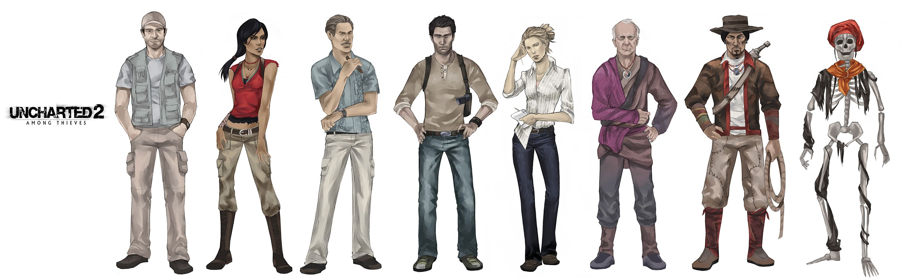 The Heroes of Uncharted 2 by ~fire-spirited on deviantART ...