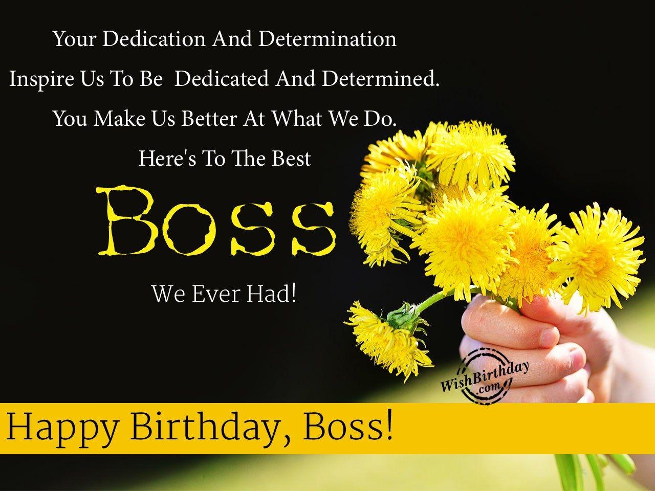 Happy Birthday Wishes For Boss Happy birthday wishes