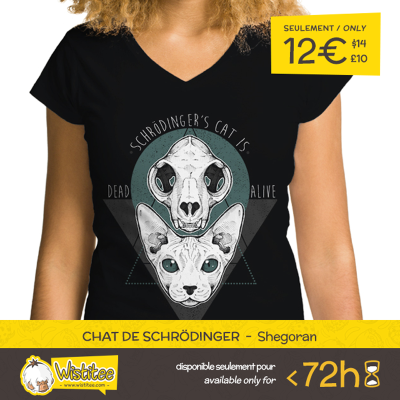 En Chat De Schrodinger Designed By The Astounding Shegoran Is Our