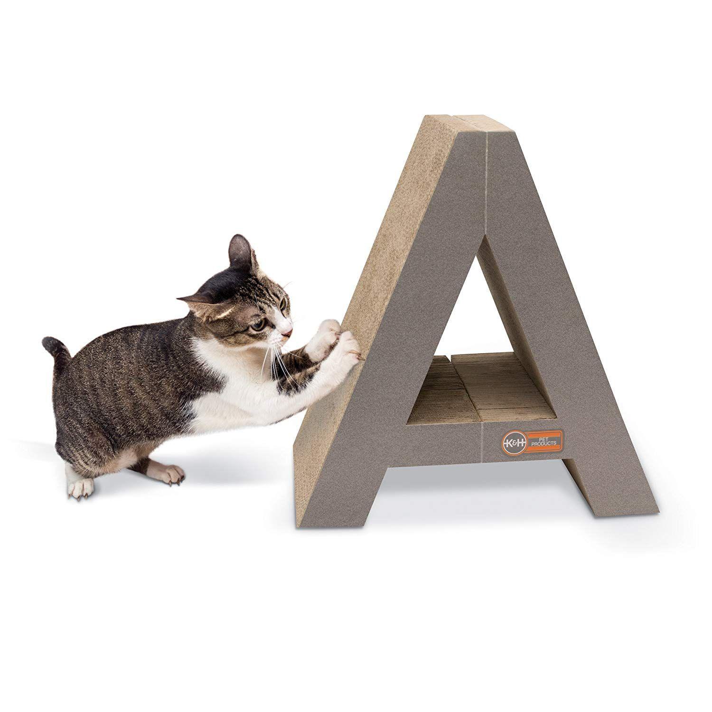 Kandh stretch nu scratch cardboard cat scratcher toy ueueue very kind