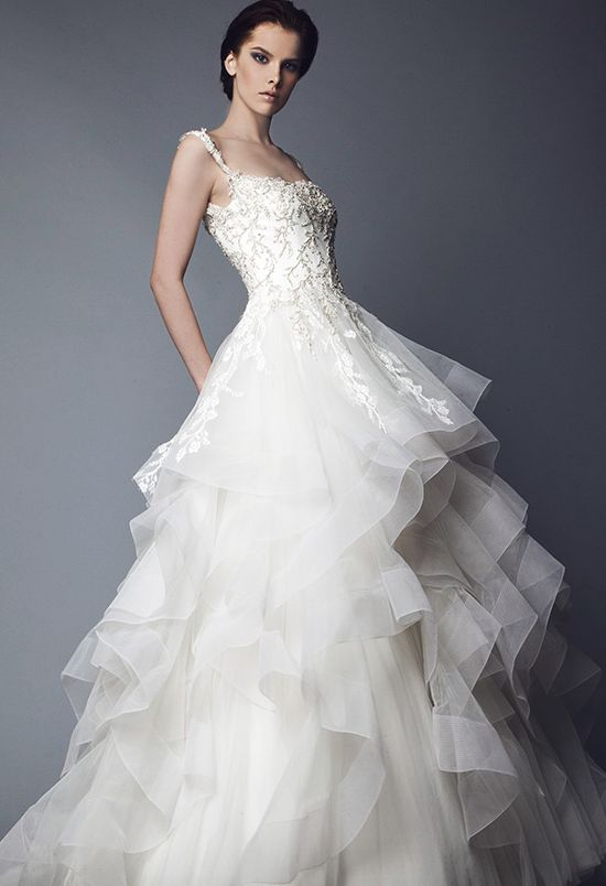 Featured Dress: Tony Ward; Wedding dress idea.