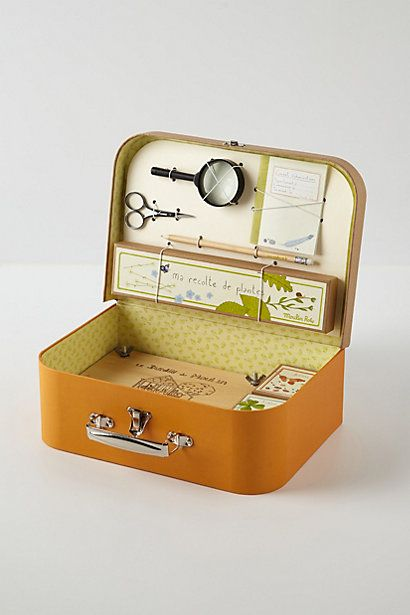 Ideas for making cute kits for children - eg a flower collecting kit, mystery solving kit, etc