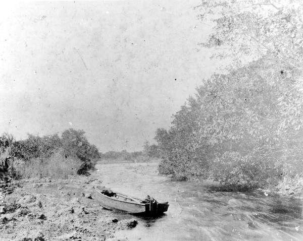 Florida Rapids in the Miami River 1896