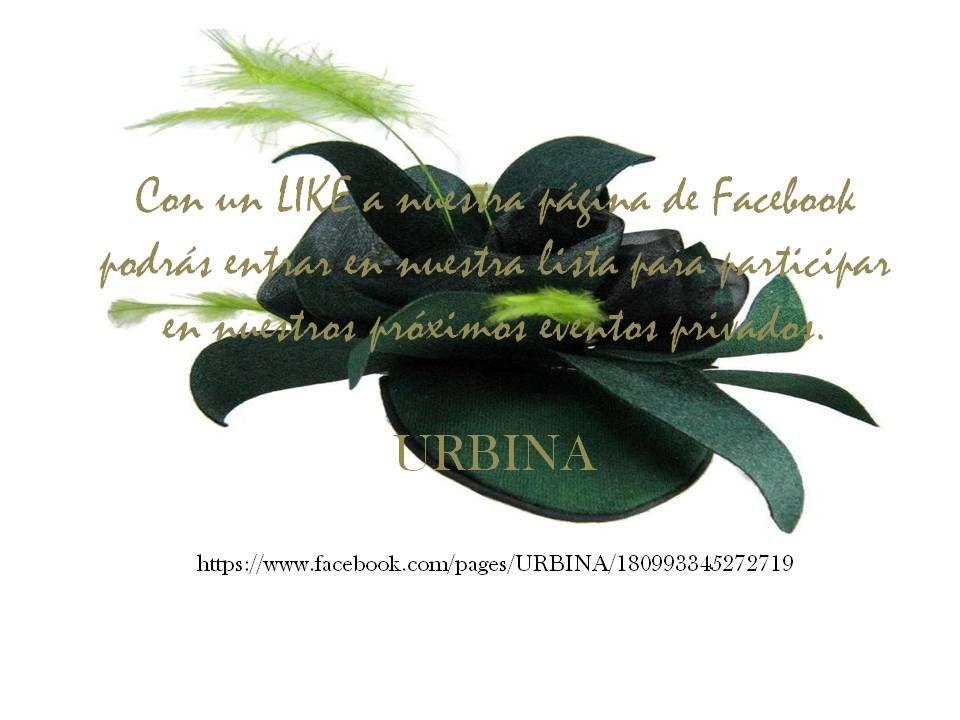 Entra en nuestro FB  da un LIKE, comparta y participe en nuestros eventos privados.   https://www.facebook.com/pages/URBINA/180993345272719?ref=hl