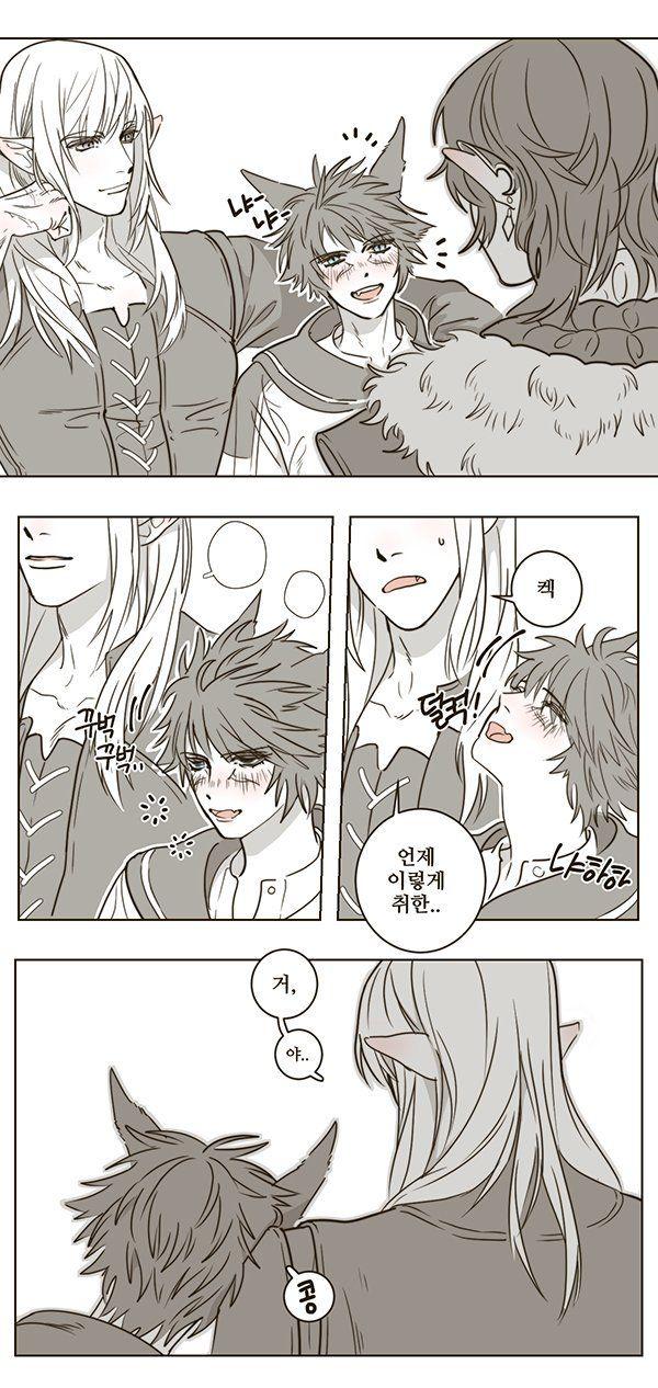 마감노예👻망령풍뎅이👻 on   Final Fantasy XIV Fan Art   Final