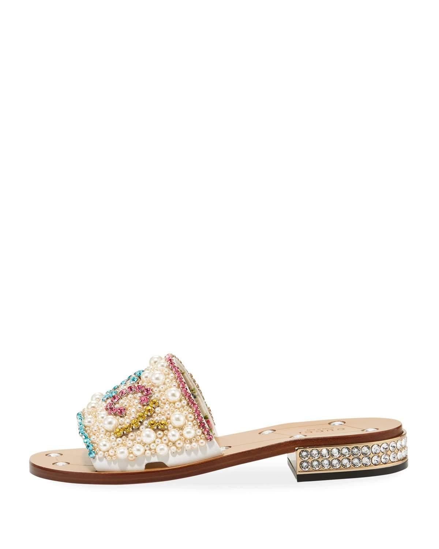 c5f7126539f00c Gucci Lupe Guccy Jeweled Sandal Jeweled Sandals