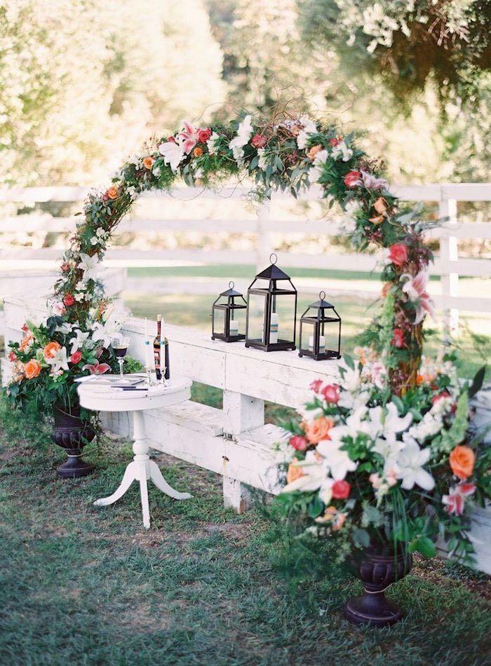 romantic wedding ceremony ideas pinterest wedding ceremony arch