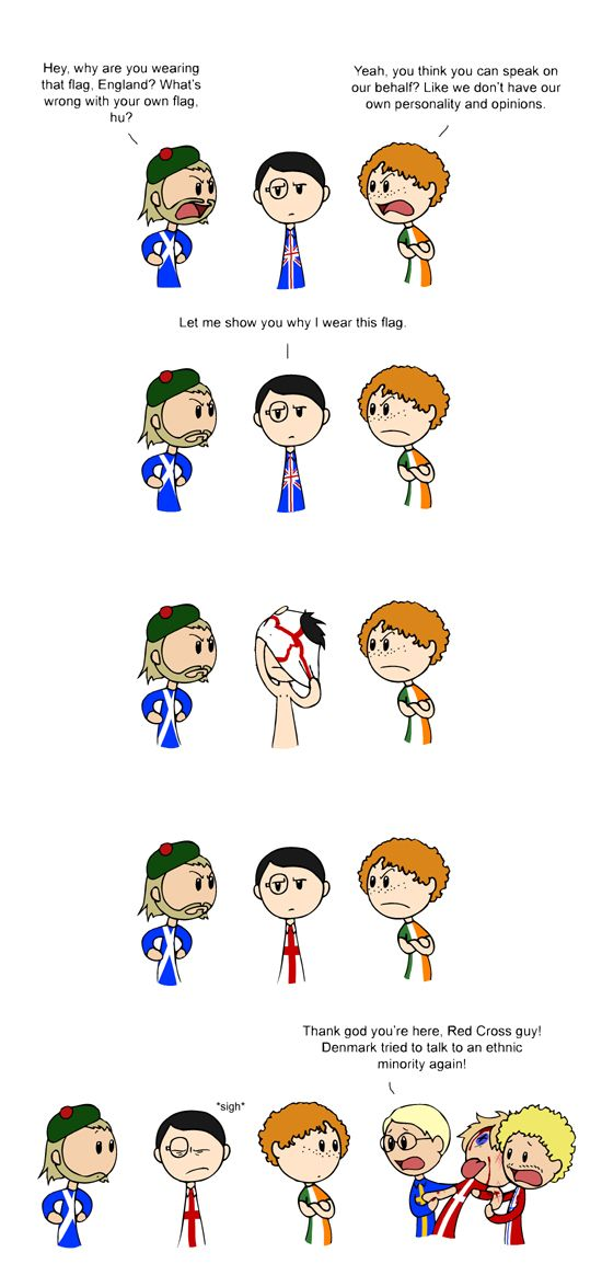 English Flag Scandinavia And The World Satw Comic Funny Comics Scandinavia