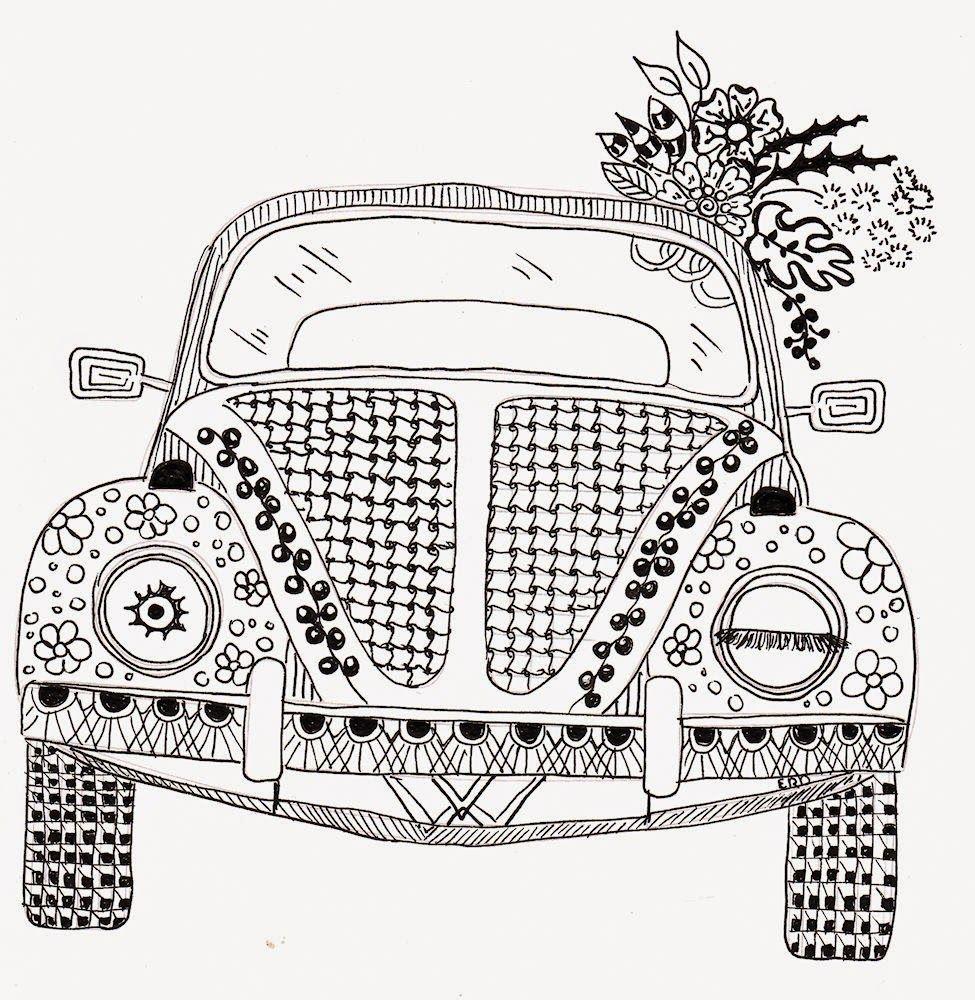 efie goes zentangle ben kwok volkswagen zentangles u0026 doodles