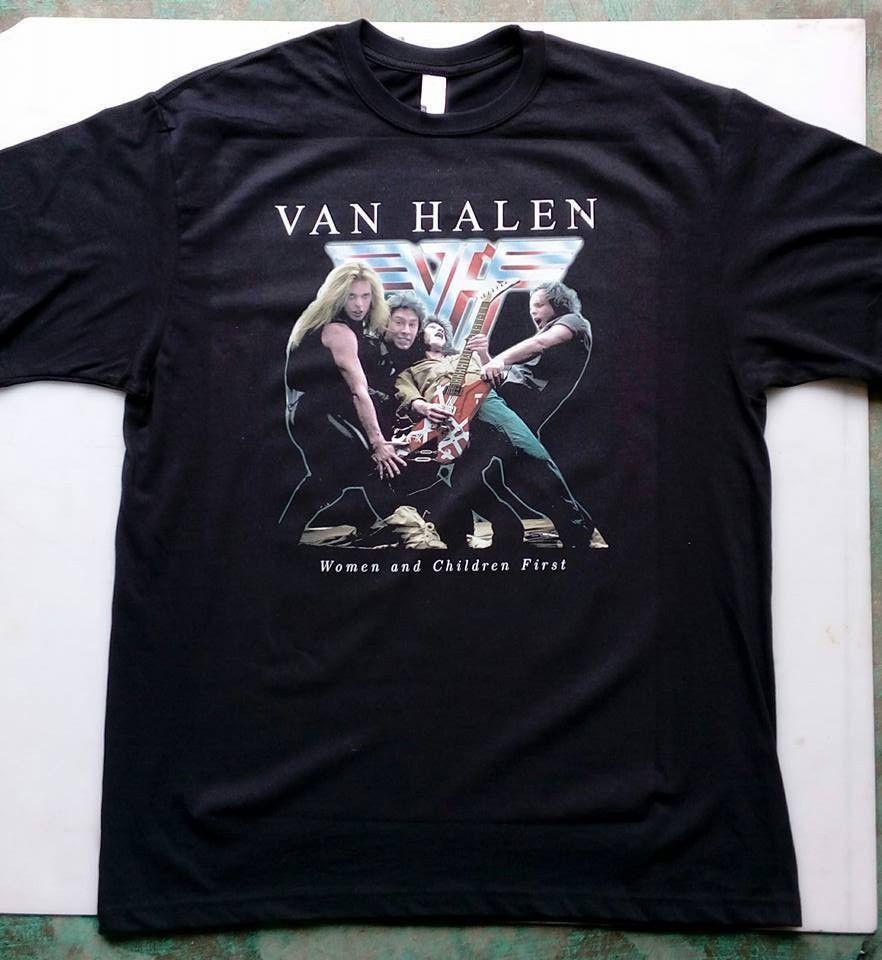 Van Halen Women And Children First T Shirt Handmade Graphictee Van Halen Shirts T Shirt
