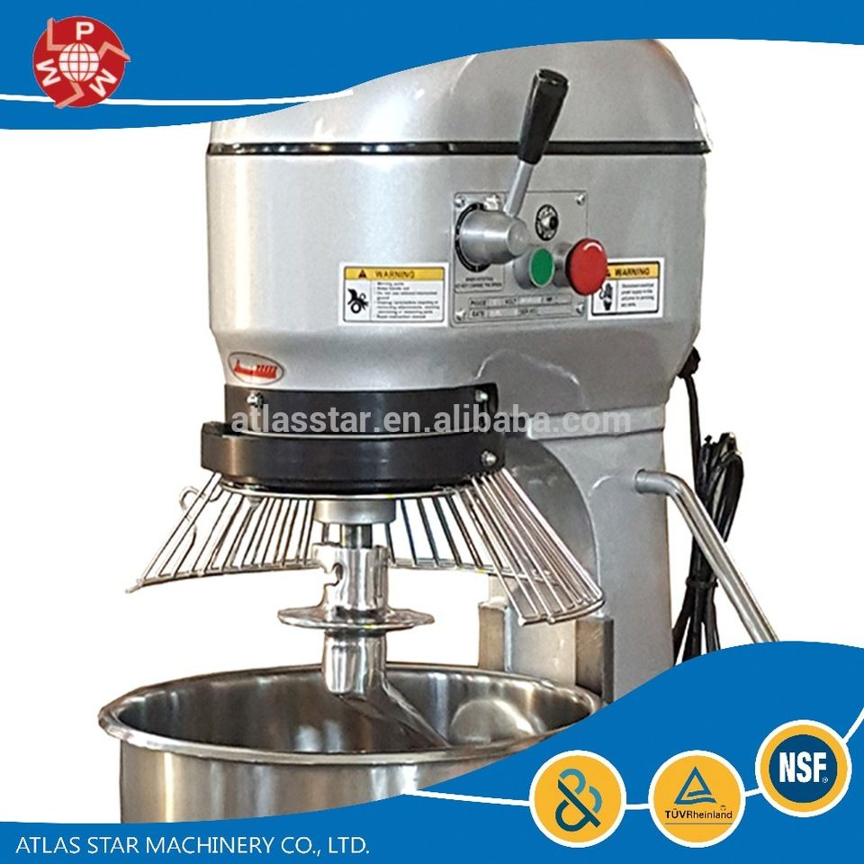 commercial 20 liter mini cake dough mixer for home bakery