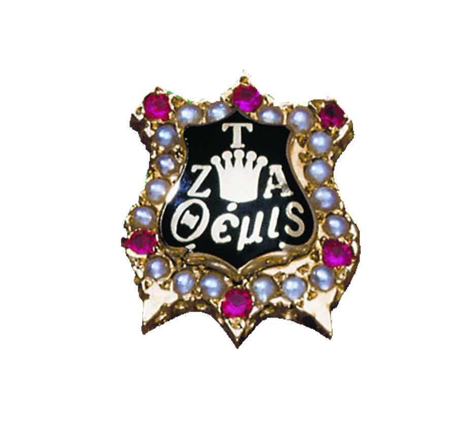 Zeta Tau Alpha Zeta Tau Alpha S Badge Was Designed Zeta Tau Alpha Zeta Tau Alpha Fraternity Badge