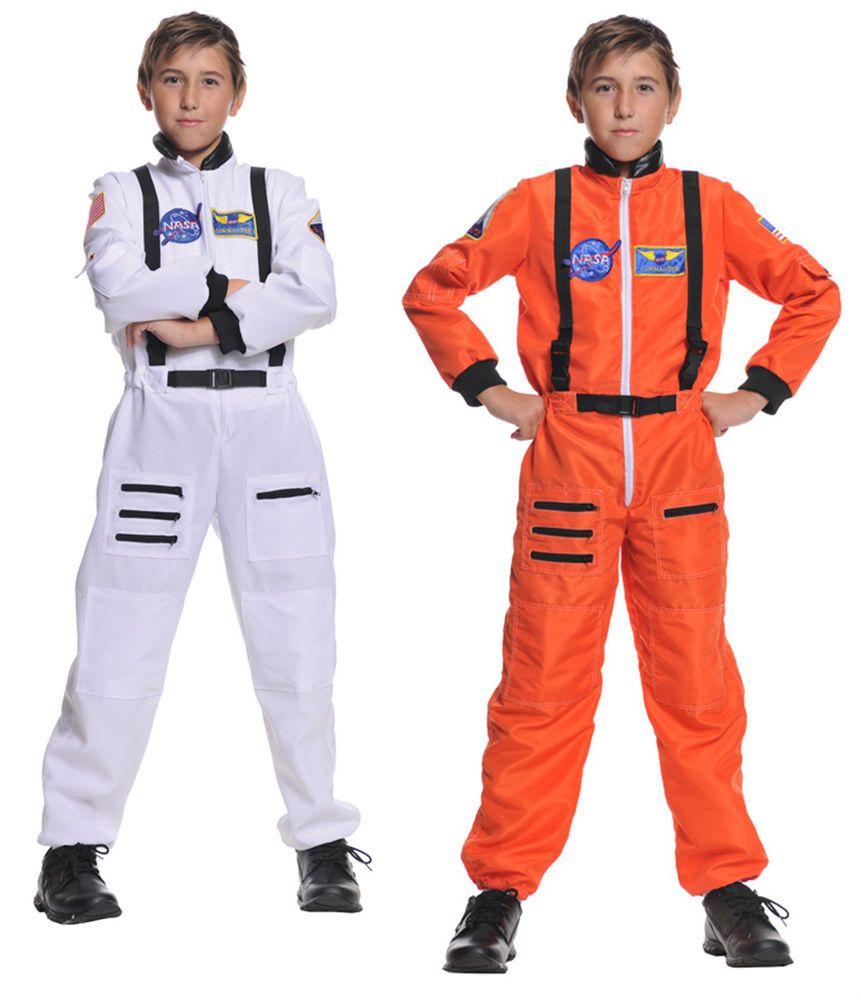 Child astronaut costume jumpsuit kids nasa shuttle pilot space ship cadet  suit - Child Astronaut Costume Jumpsuit Kids Nasa Shuttle Pilot Space