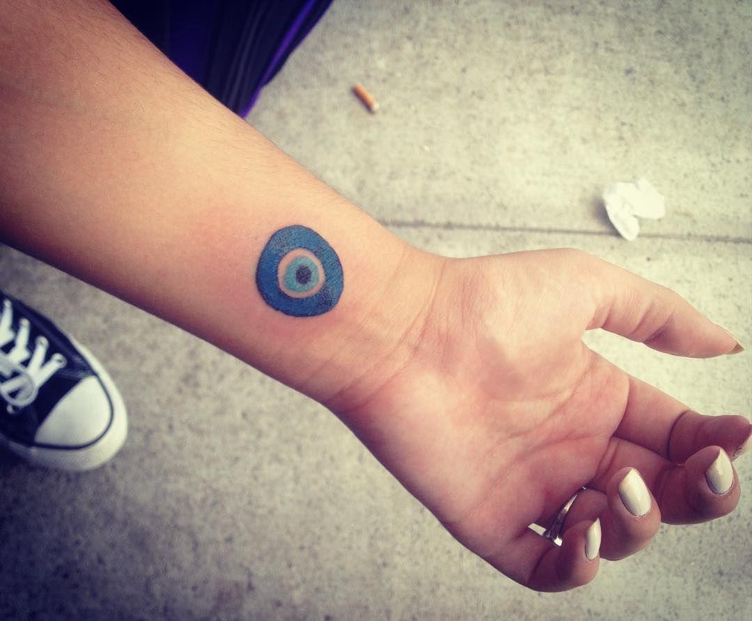 15 Tiny Evil Eye Tattoo Ideas To Ward Off Misfortune Evil Eye Tattoo Eye Tattoo On Arm Greek Evil Eye Tattoo