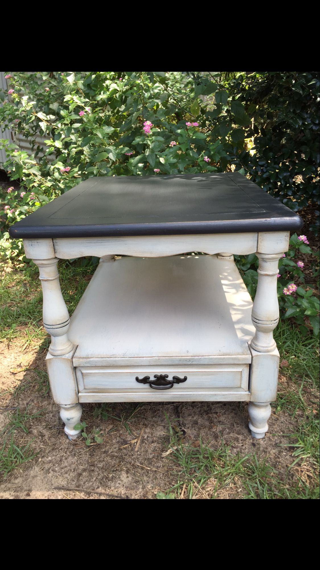 Furniture painting ideas techniques - Dixie Belle Paint Drop Cloth And Midnight Sky Paintiques By Lisa Harrison