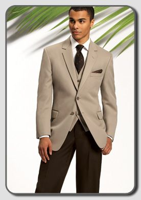 How to dress the groomsmen? : wedding black suit brown chocolate ...