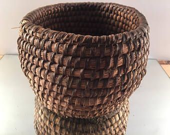 rattan basket small from storage box.htm antique rye basket  french country home  handmade weaved basket  antique rye basket  french country home