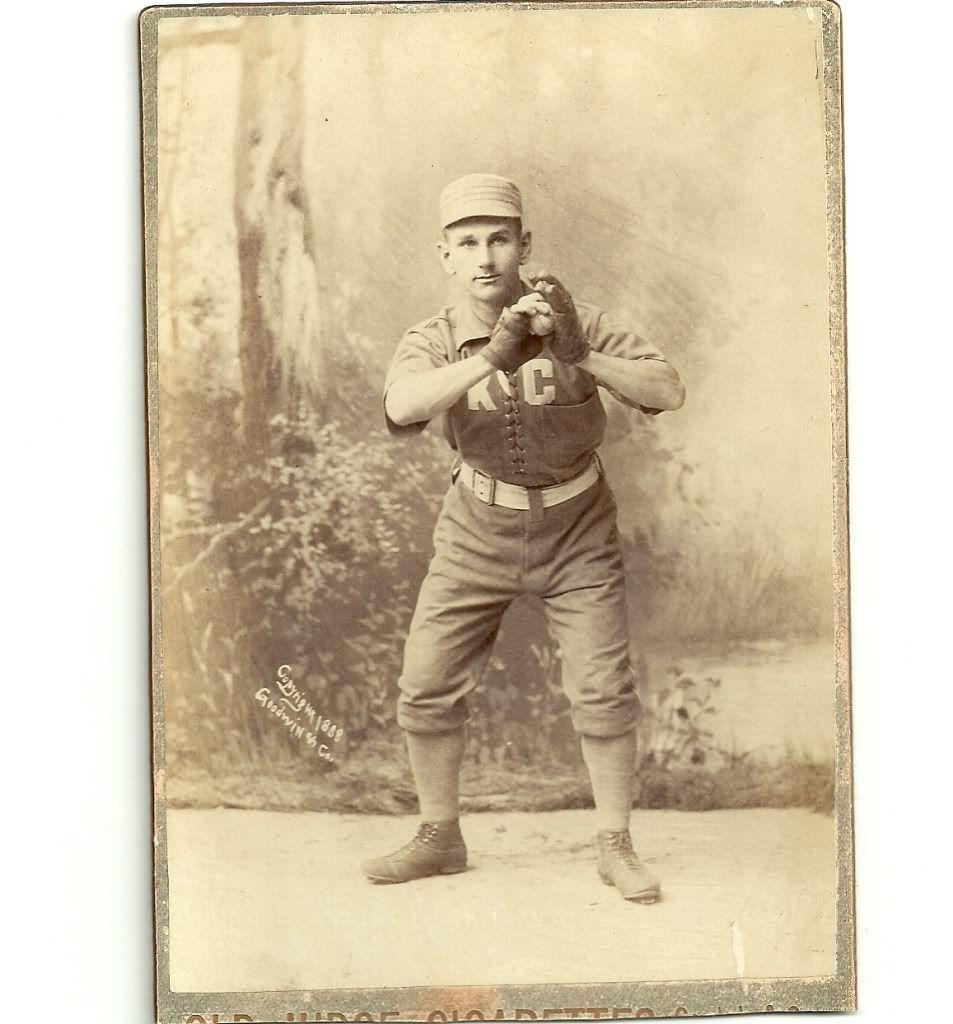 Joe Gunson Kansas City Cowboys 1889 Kansas city, Kansas