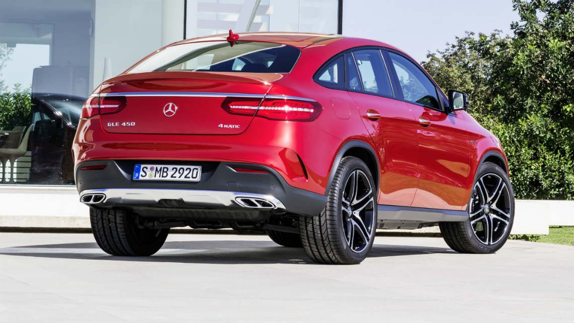Mercedes Benz Gle Coupe Revealed With Images Mercedes Benz Gle