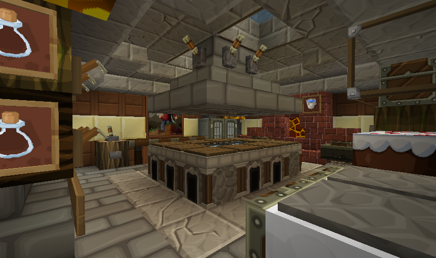 Minecraft seeds minecraft kitchen ideas minecraft for Minecraft house interior living room