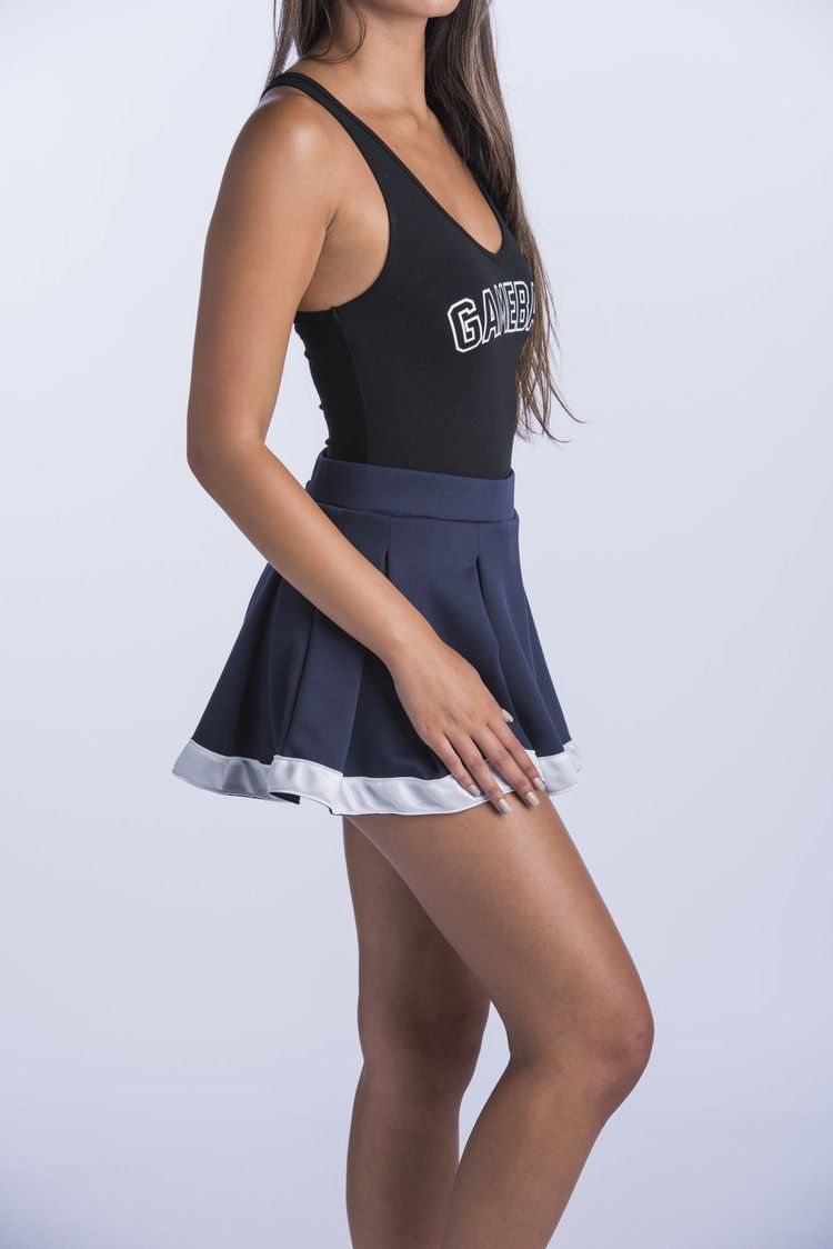 f8816d164b Navy and White Tailgate Skirt Hype and Vice cute college tailgate game day  outfits apparel