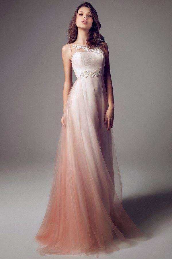 """mi wedding diario: vestidos de novia con un """"toque"""" de color   got"""