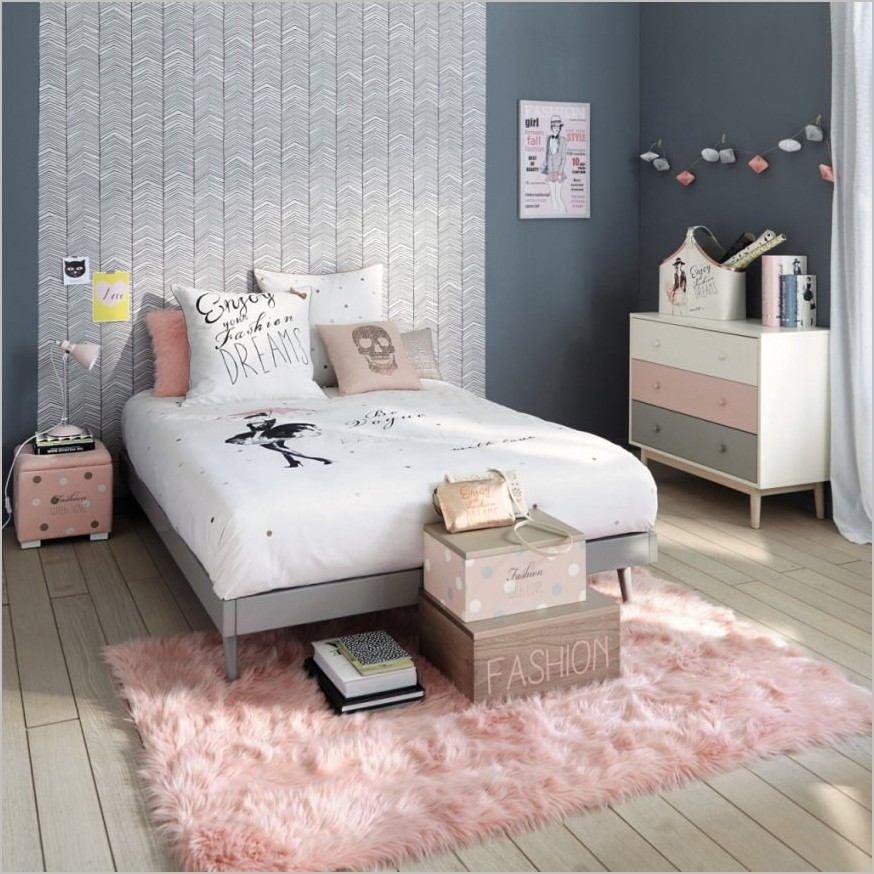 Deco Moderne Chambre Ado Fille Chambre Ado Rose Deco Chambre Deco Chambre Adolescent