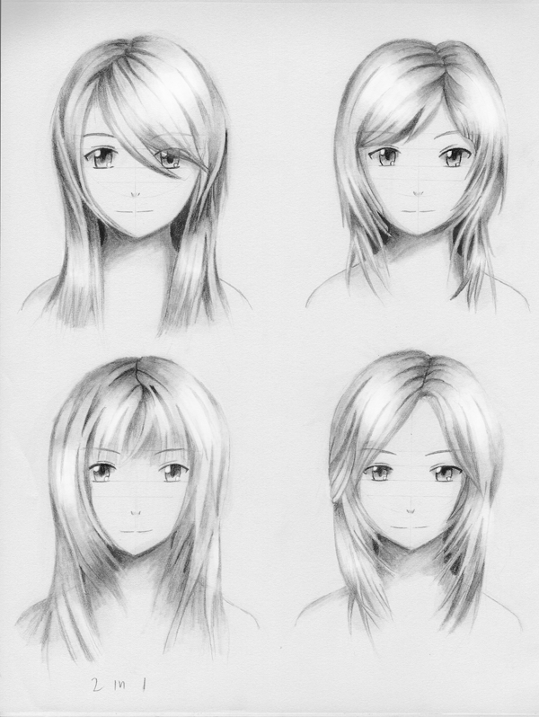 Female Hairstyle Practice 3 By ShenGoDo On DeviantArt
