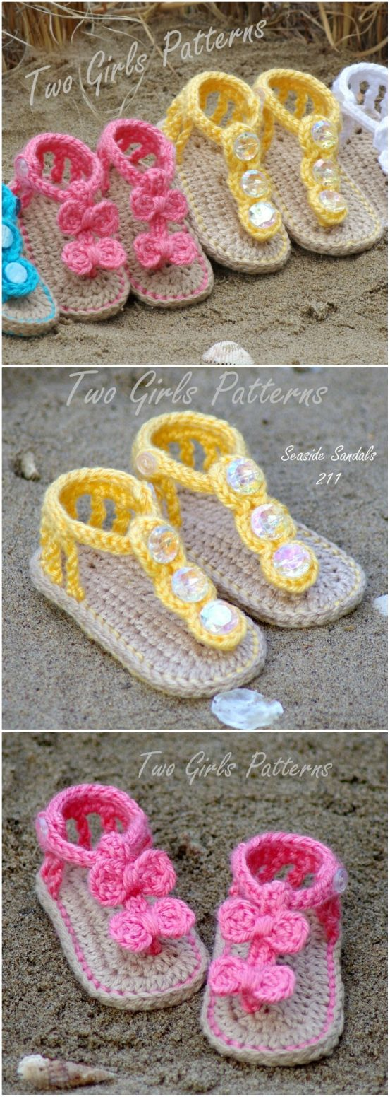 Photo of Crochet Baby Sandals Patterns Cutest Ideas | The WHOot
